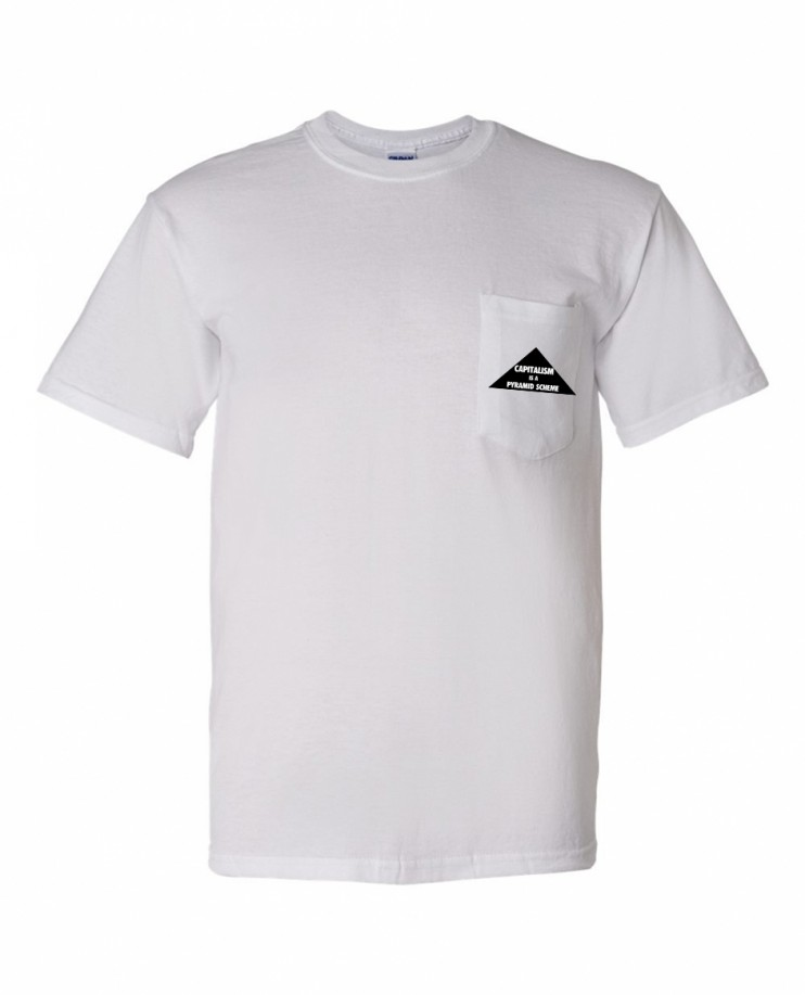 PYRAMID SCHEME WHITE Pocket