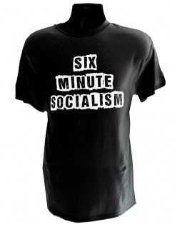 Six Minute Socialism BLACK