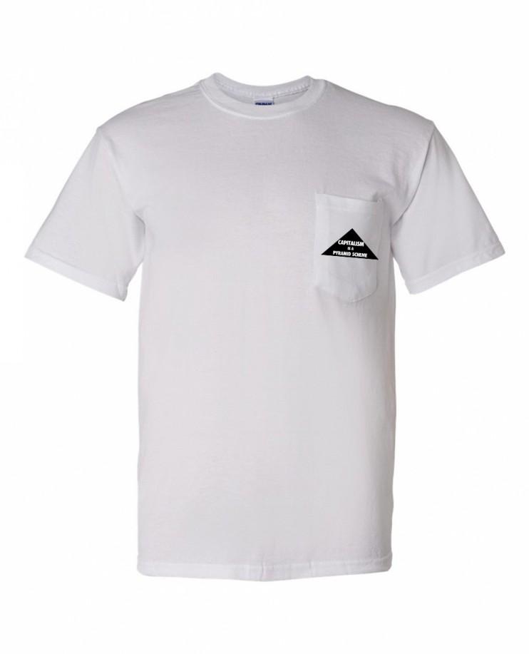 PYRAMID SCHEME WHITE Pocket